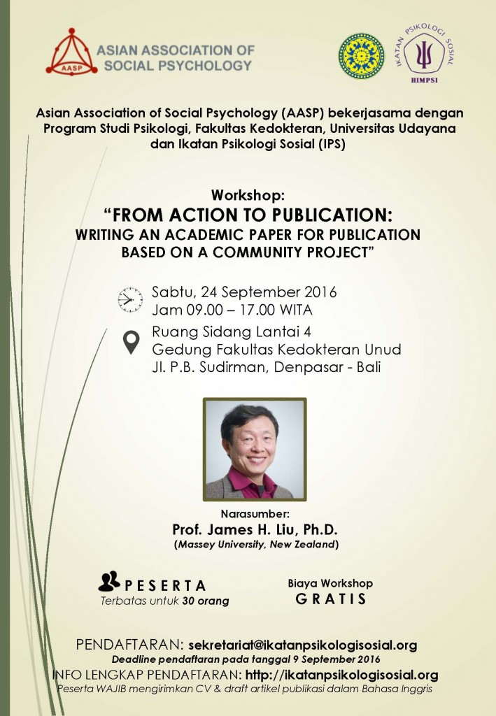 Final - AASP IPS Unud - Workshop Bali Poster 24 Sept 2016